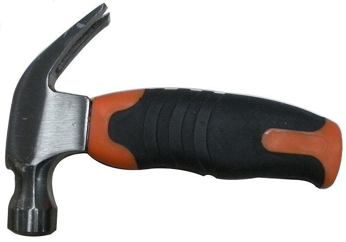 Stubby Claw Hammer Tool Drop Forged Carbon Steel High Frequency Quenching